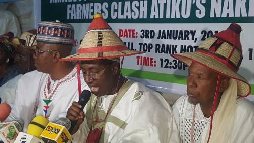 2019: Reject Atiku, he is surrounding himself with ethnic irredentists, hate speech merchants, says Miyetti Allah