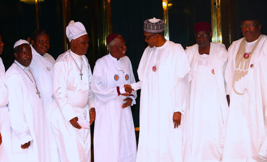 2019: With your prayers, we will go into the field, and be victorious, Buhari tells Church leaders