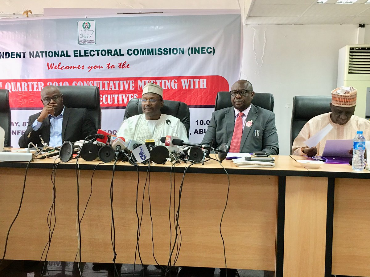 2019: We'll do a nationwide electronics transmission of results, says INEC Chairman