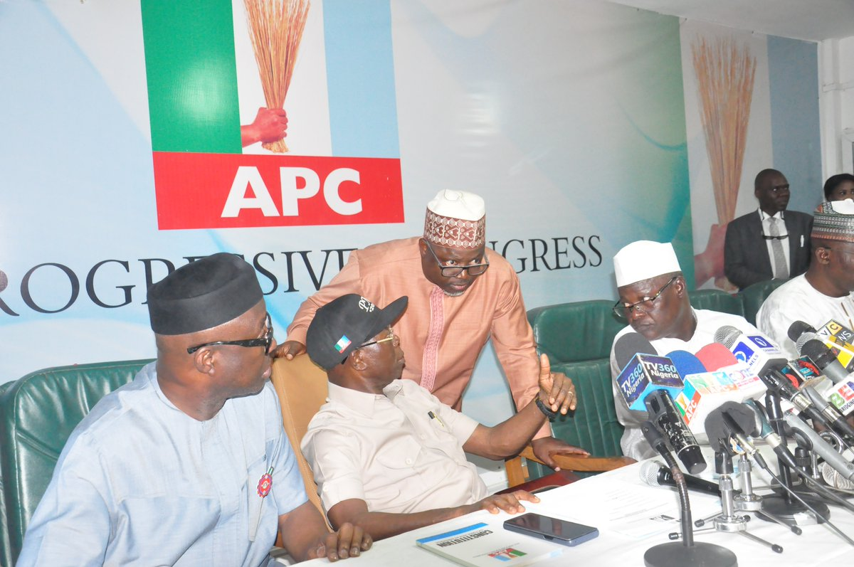 Our official website hacked, we won't allow desperate people to succeed in their evil plots, says APC