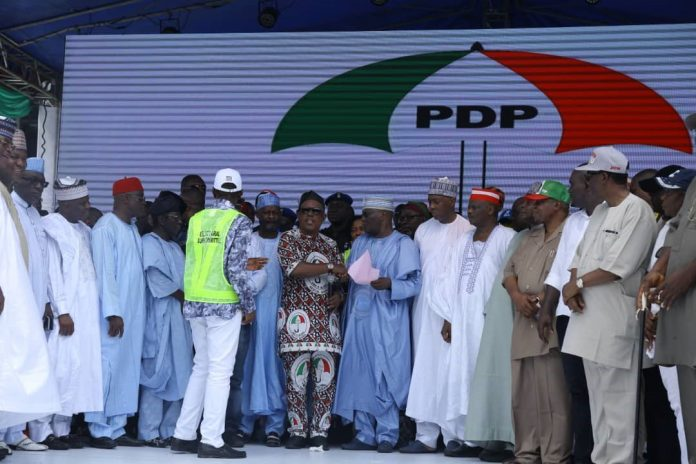 PDP frowns at simultaneous accreditation, voting for 2019 elections