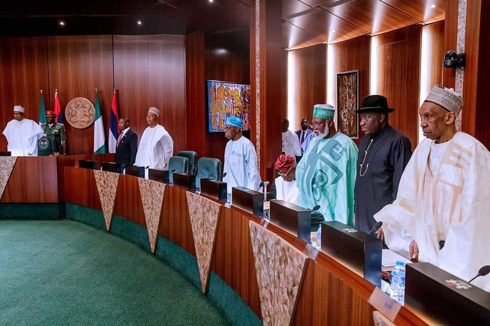 National Council of State endorses N27,000 as New Minimum Wage