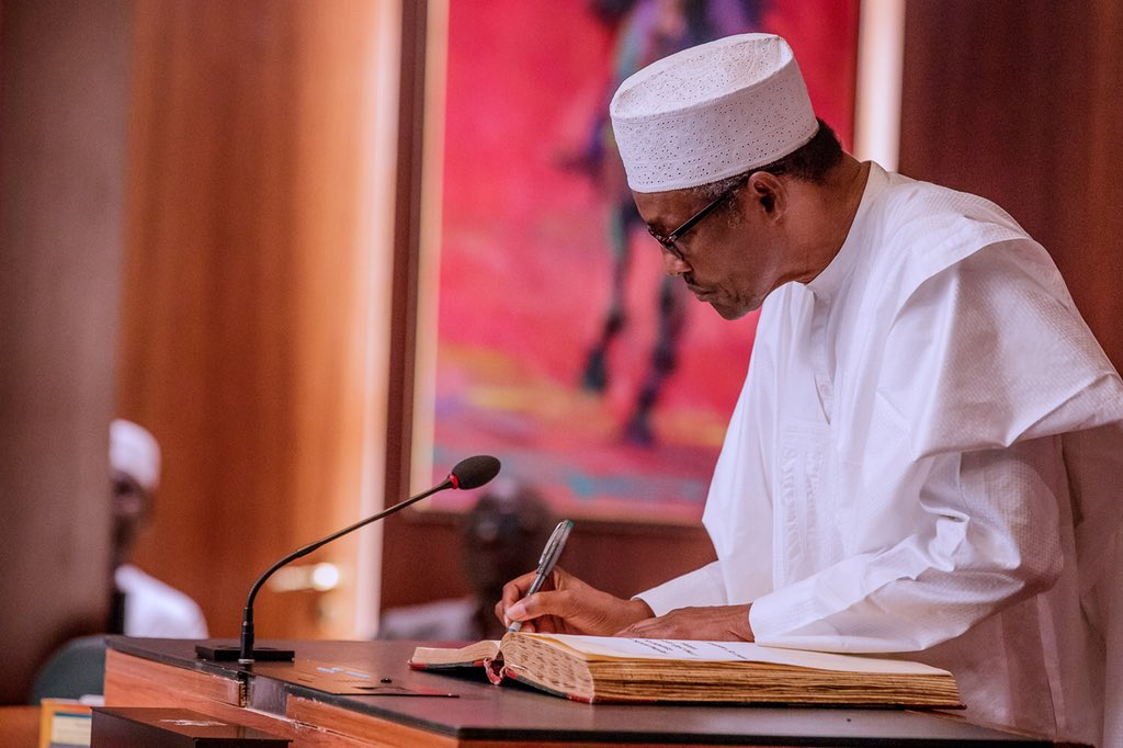 For your record: Buhari's speech on suspension of CJN, Onnoghen