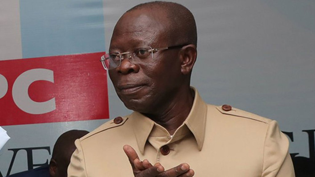 Obasanjo ceded Bakassi to Cameroon because he wanted to get a Nobel Peace Prize, says Oshiomhole