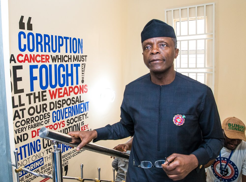 We thank God our Vice President, Osinbajo is safe and sound, says APC