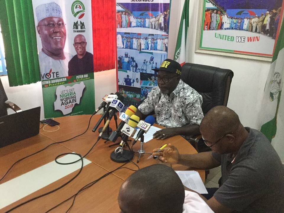 Information available to us revealed that there were attempts to rig the elections, says PDP