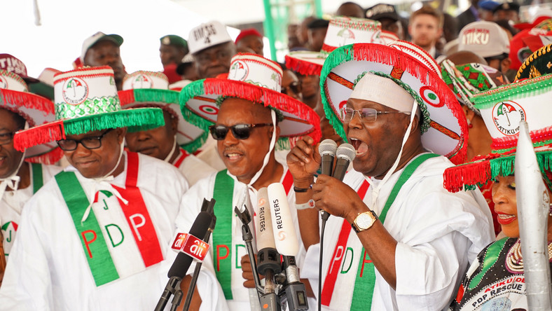 Atiku, PDP Chieftains storm Lagos, promise a better Nigeria