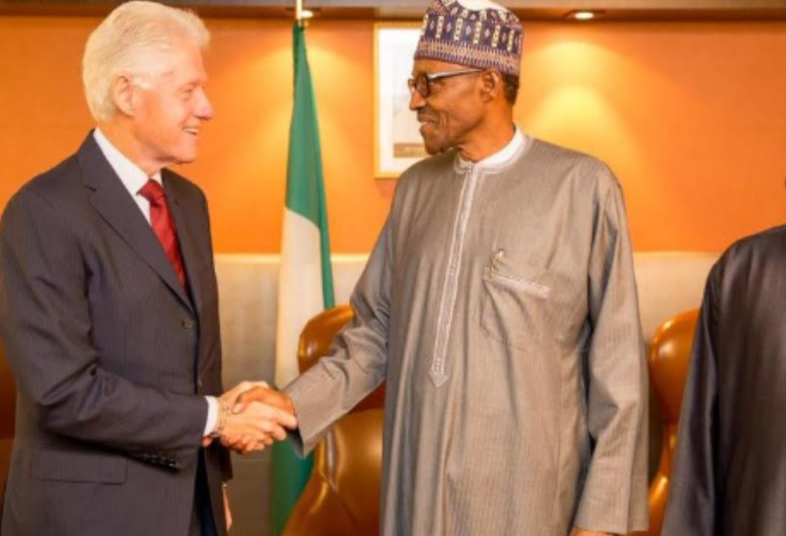 Thanks for being our friend, Buhari tells Clinton in phone conversation