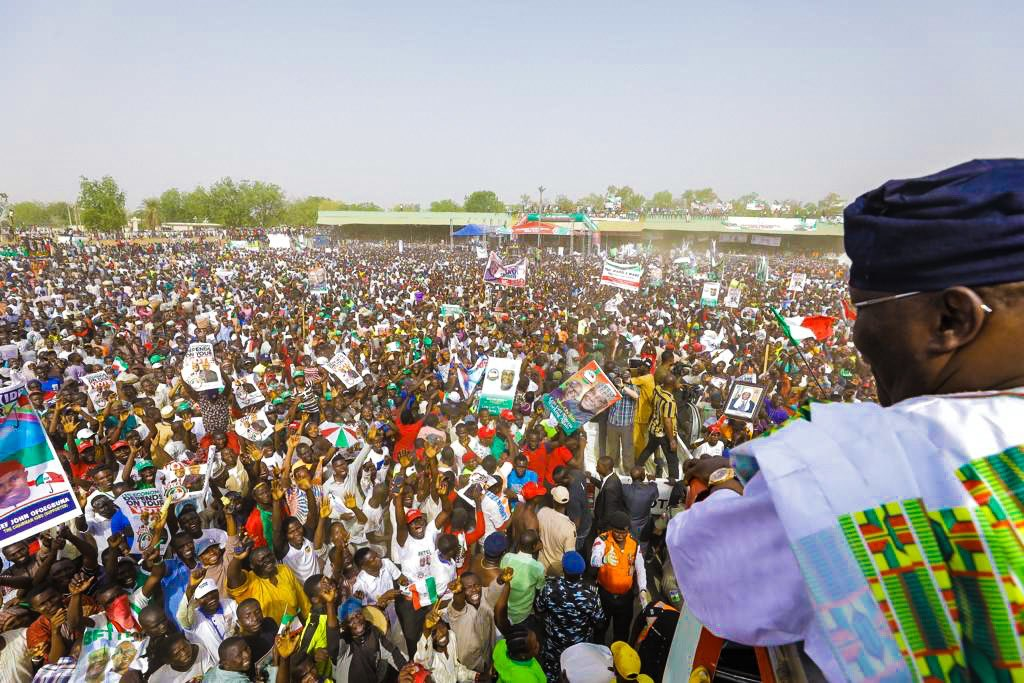 Appreciate the emergence of your own, vote for me, Atiku tells Adamawa people