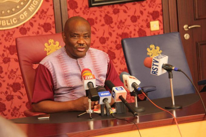 Wike suspends 12 LG Bosses over 'failure to participate in an official function'
