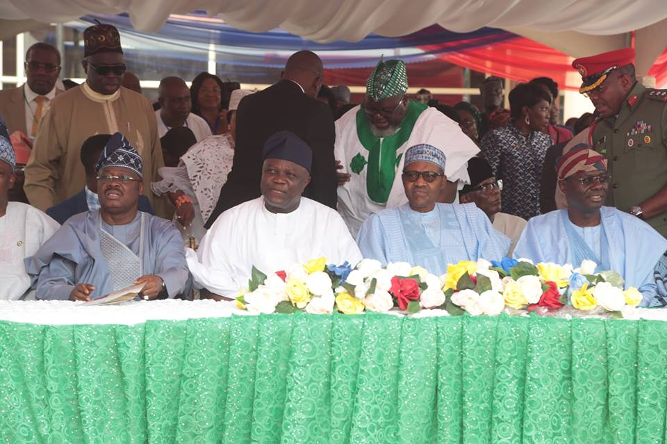 Ambode has performed satisfactorily and we should all commend him - Buhari