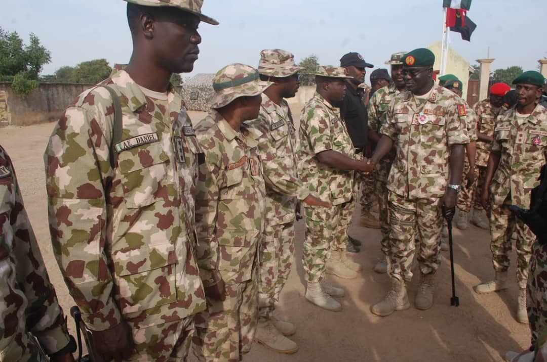 Politicians behind heightened security in Nigeria, says Chief of Army Staff