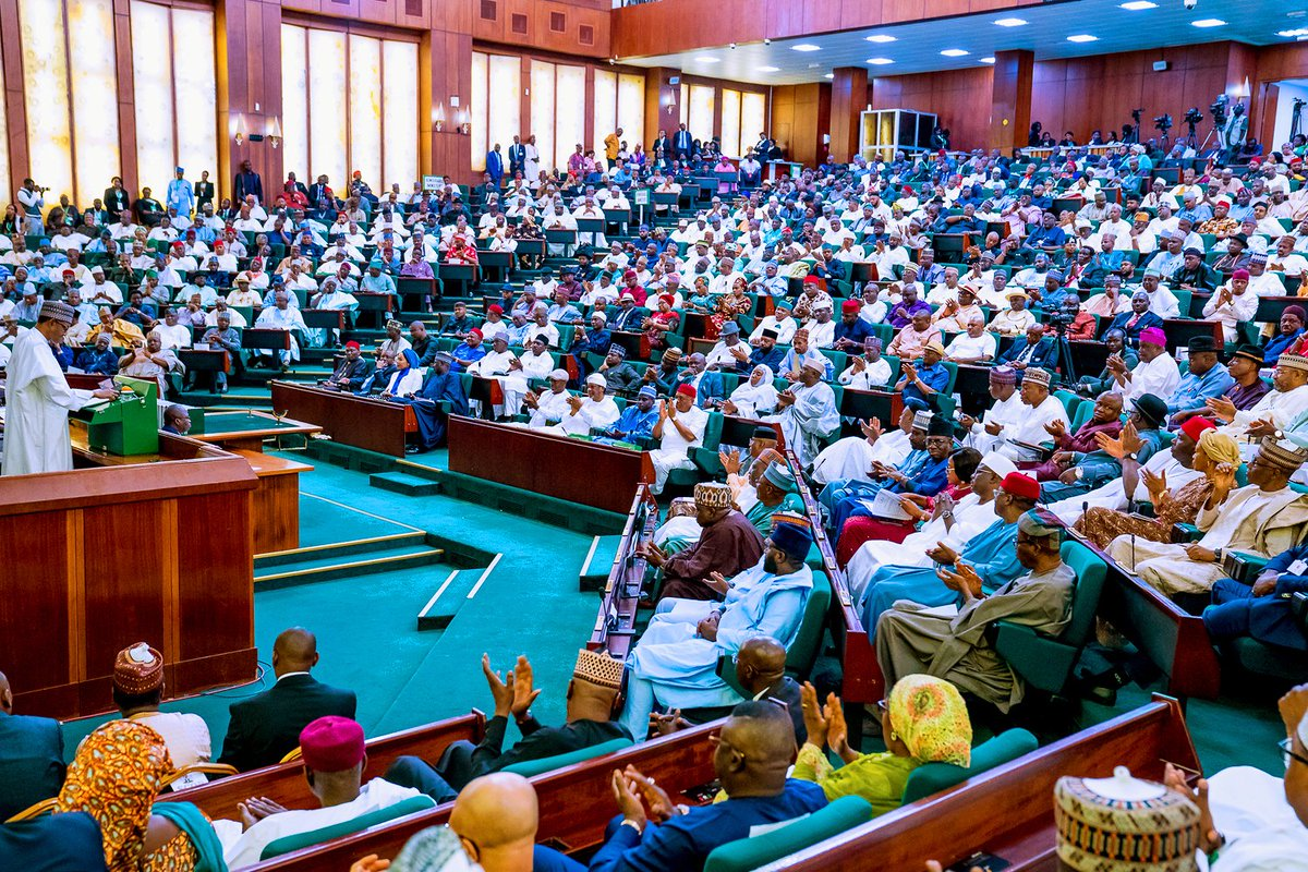 Buhari unveils N10.33trn 2020 Budget proposal before NASS