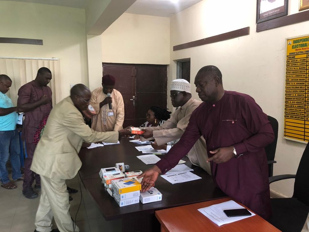 Governorship poll: Males top list as INEC presents Voters Register to parties in Kogi