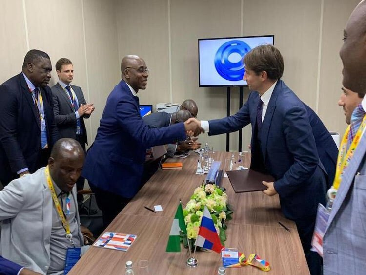 Minister signs MoU in Russia to modernise Nigeria Railway system