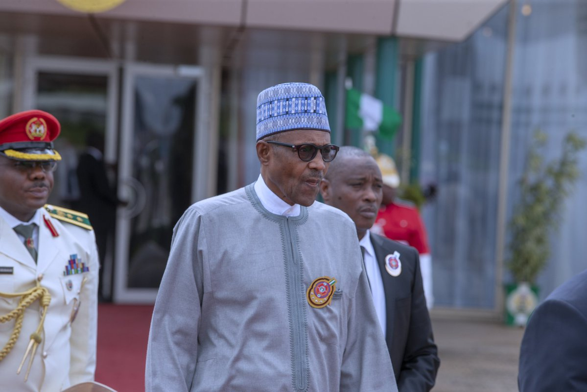 Buhari arrives Saudi Arabia for Future Investment Initiative Summit