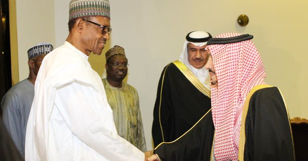 Buhari joins world leaders, others at opening of FII in Saudi Arabia