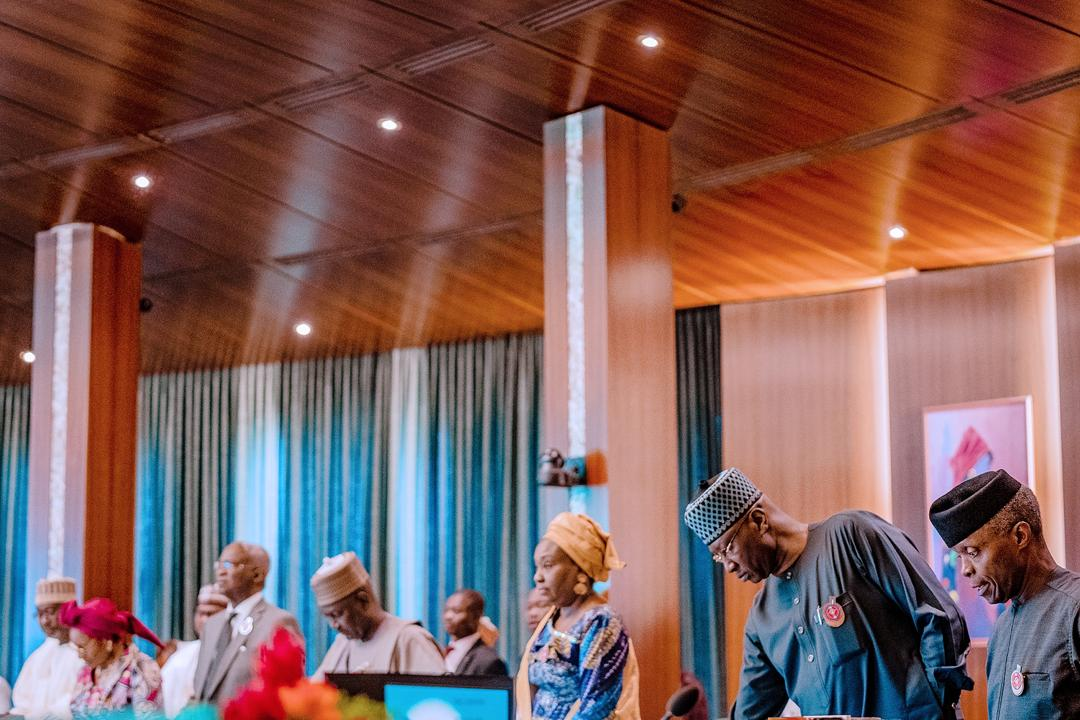 Osinbajo takes charge of fourth consecutive FEC meeting in absence of Buhari