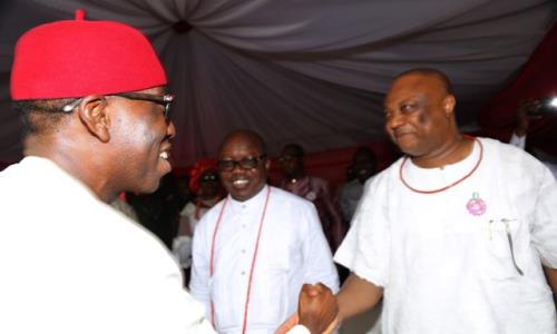 Join me to move Delta forward, Okowa tells Ogboru after Supreme Court's verdict