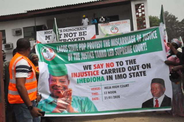 Imo: It's common knowledge that Supreme Court could not change judgment - Lagos PDP