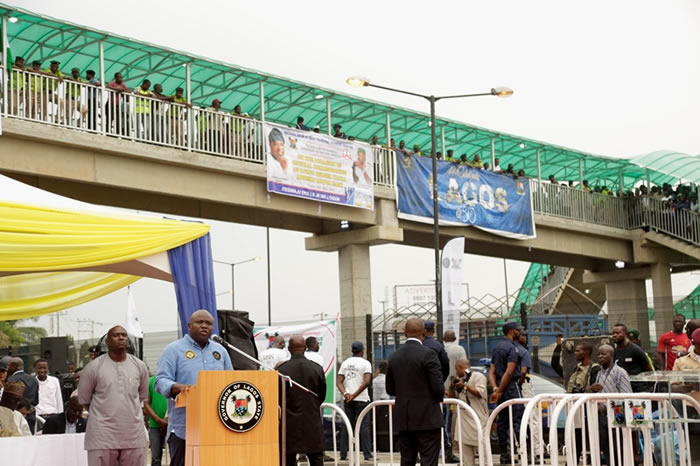 Ambode warns FRSC to stay off main Lagos streets, says ban on VIOs permanent