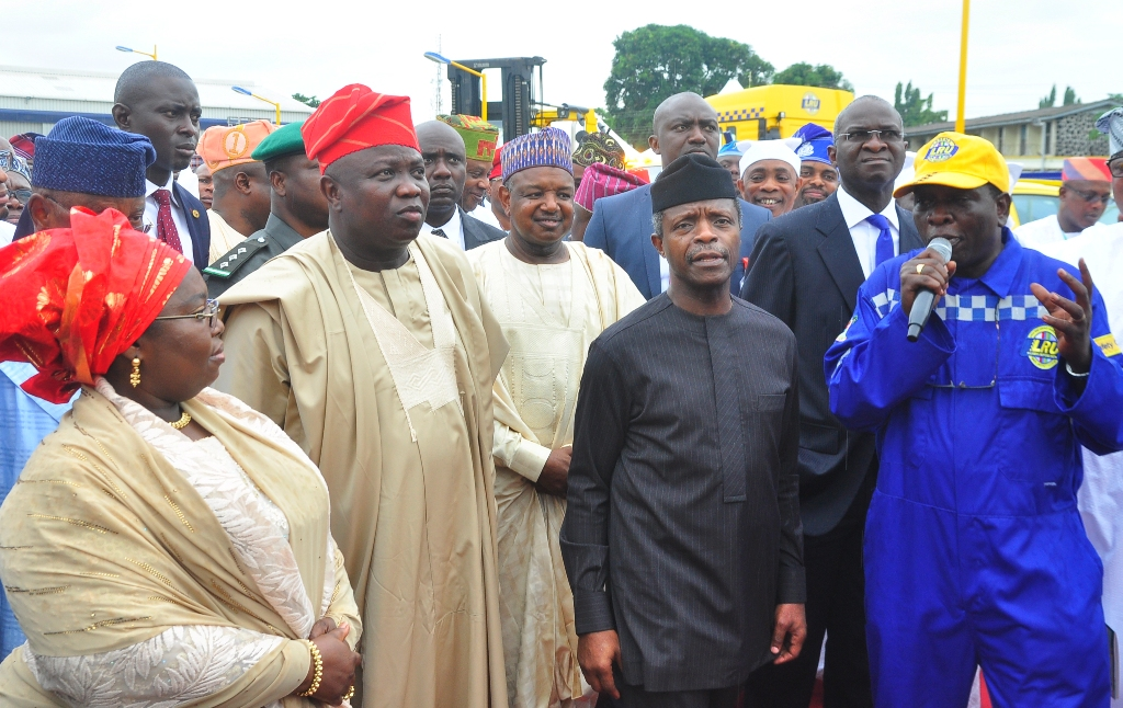 Osinbajo's approval to rebuild Airport Road a 50th birthday gift to Lagos - Ambode